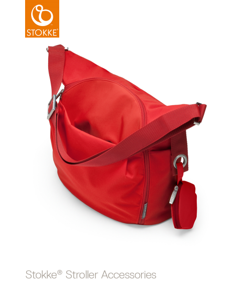 STOKKE Wickeltasche Red