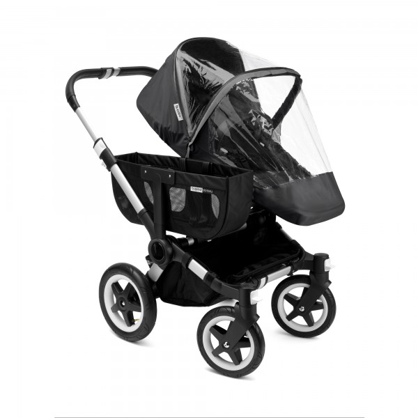 Bugaboo Donkey/Buffalo/Runner High Performance Regenabdeckung SCHWARZ