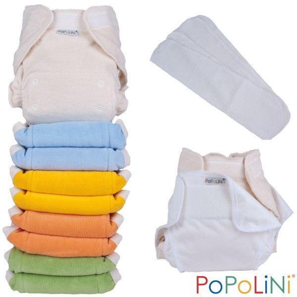 Popolini UltraFit Rainbow Set Frottee Soft