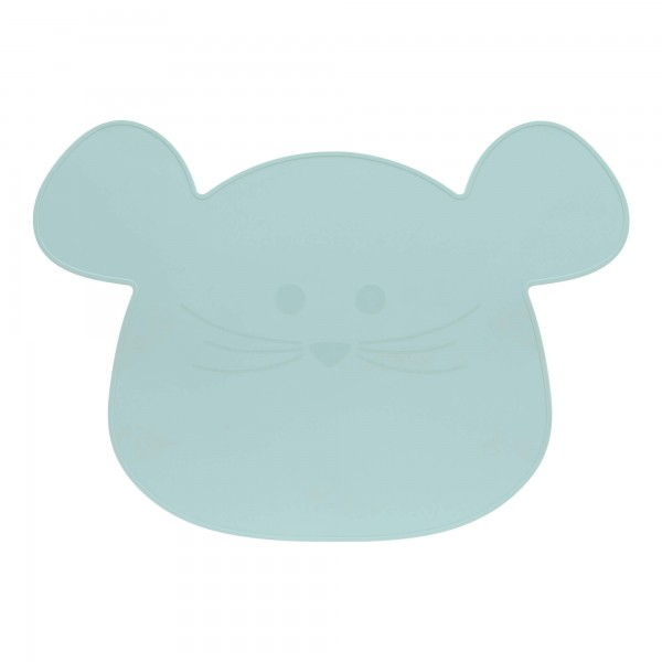 Lässig Placemat Silicone Little Chums Mouse