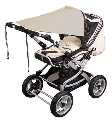 Baby Plus Kinderwagen-Markise, sand