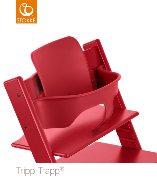 Stokke Tripp Trapp Baby Set red