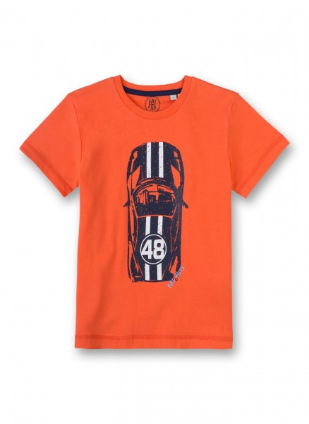 Eat Ants by Sanetta T-Shirt Jungen Orange Auto 2367