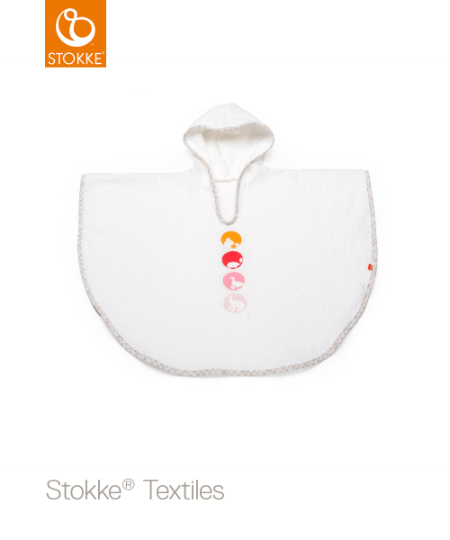 STOKKE Badeponcho silhouette pink