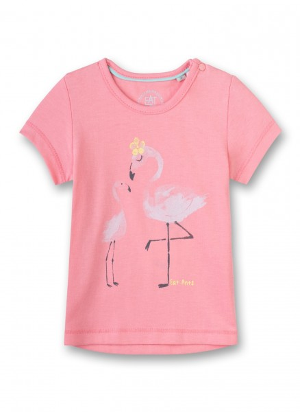 Eat Ants by Sanetta Mädchen-T-Shirt Flamingo Rosa 38047