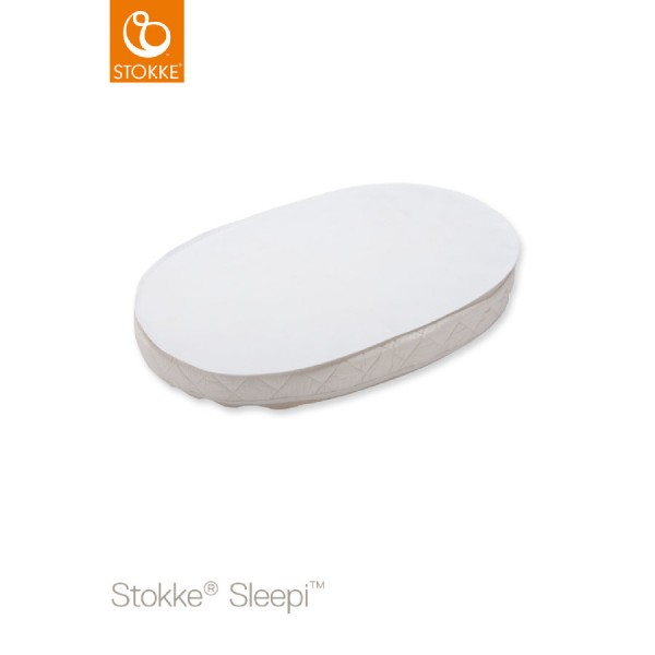 Stokke Sleepi Mini Nässestop White