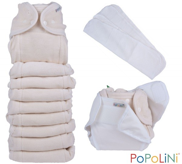Popolini OneSize Set Frottee Soft