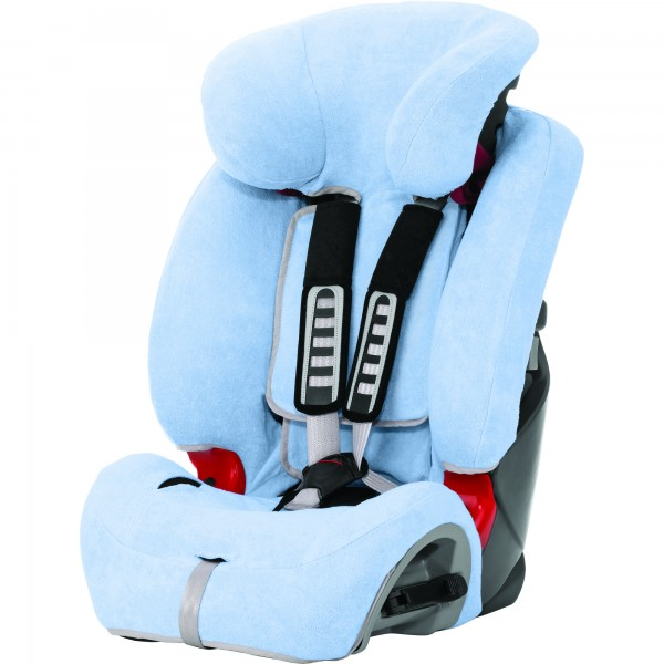 Britax EVOLVA 1-2-3 & plus / Multi-Tech II Sommerbezug Blue